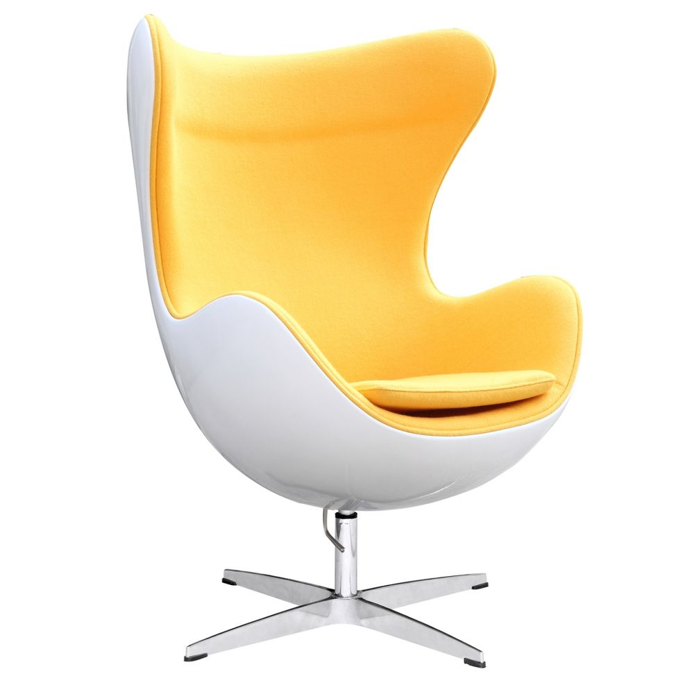 Eames Office Chair Yellow