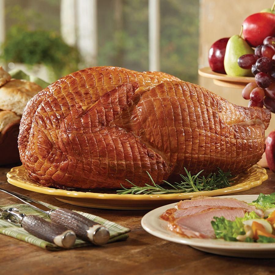 how to reheat honey baked ham turkey breast