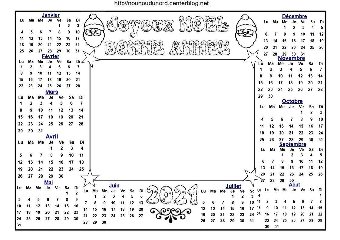 calendrier de noël 2021 en 2020   Calendrier de noel, Calendrier