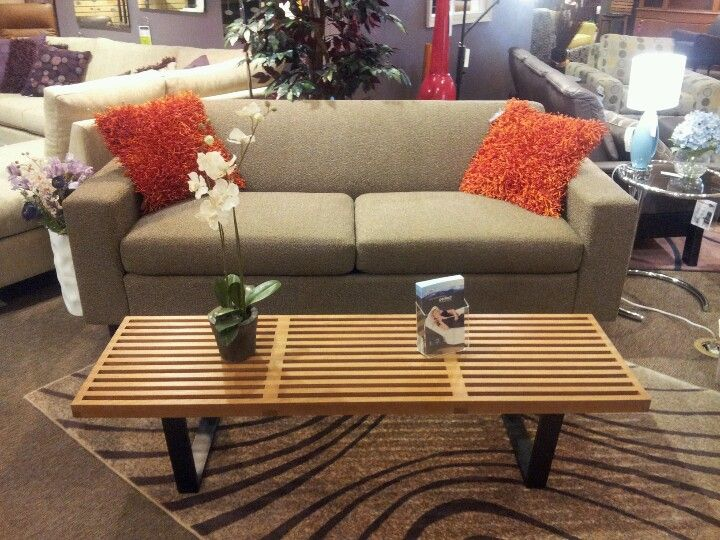 Ross Sofa And Heywood Bench On Floor At Forma Furniture As Of 11 5 12