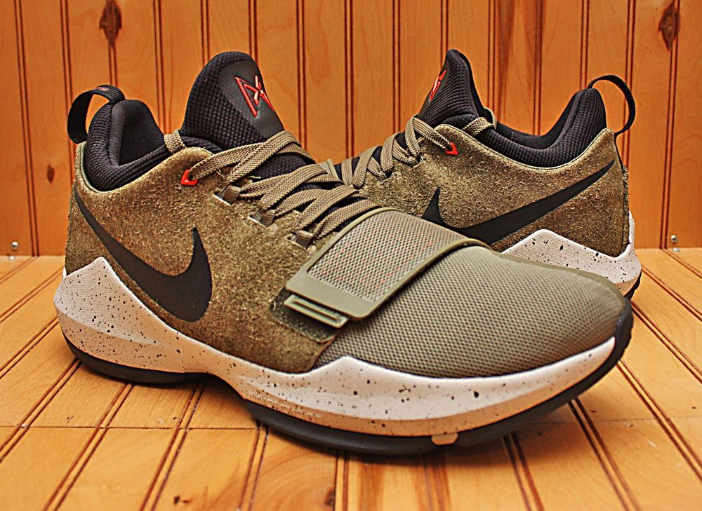 2016 Nike PG1 Elements Size 13 - Medium Olive Black - 911085 200 | Clothing,