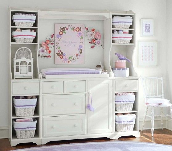 Madison Changing Table System, Sun Valley Espresso   Pottery Barn Kids