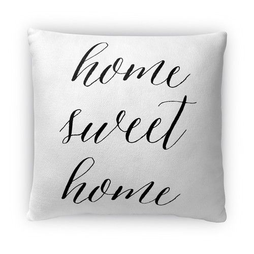 Found it at Wayfair - Home Sweet Home Throw Pillow