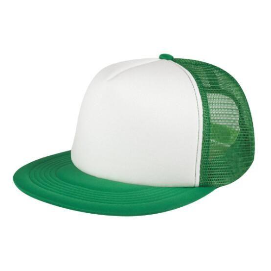 5d99f308476ab Custom Trucker Hat Flat Bill Visor Free Logo Men Women Summer Snapback Caps  Sports Team Group