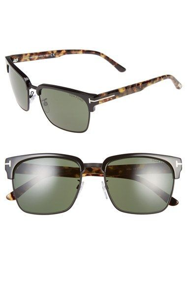 47abae948500 Tom Ford  River  57mm Clubmaster Sunglasses available at  Nordstrom ...