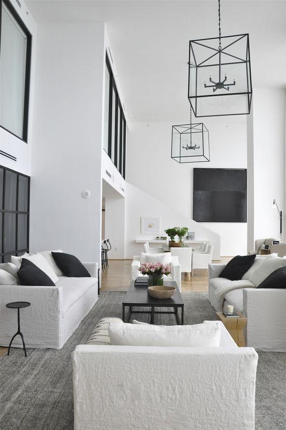Blog Modern Furniture Living Room Living Room White Black And White Living Room #white #and #black #living #room #decor #ideas