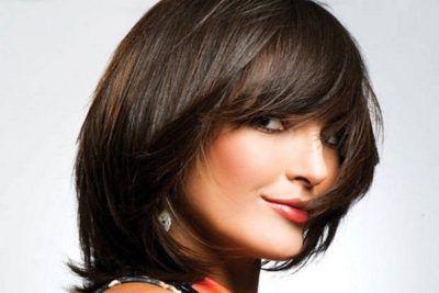 cortes curtos de cabelo para rosto oval