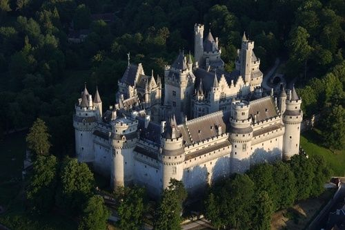 Château de Pierrefonds, France... Yo @Kristina Smith you're completely missing THIS ONE. WHERE MERLIN WAS (mostly) FILMED.