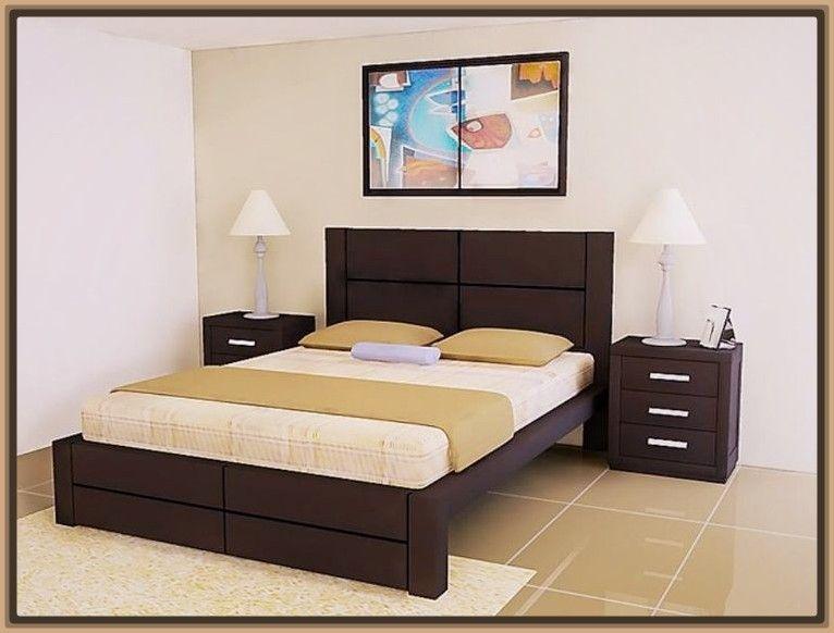Camas en madera modernas dise o interiores en 2019 - Disenos de camas ...