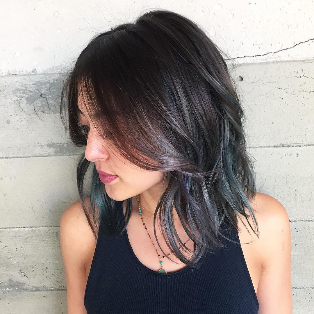 elegant blue ombre hair designs u mystery in your locks colors