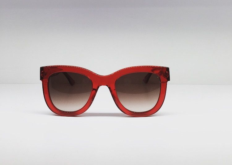 dd123e0be1 Thierry Lasry  OBSESSY CAT-EYE STYLE RED SUNGLASSES