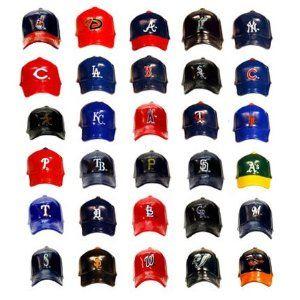 Mlb Mini Plastic Baseball Caps Set Of All 30 Teams
