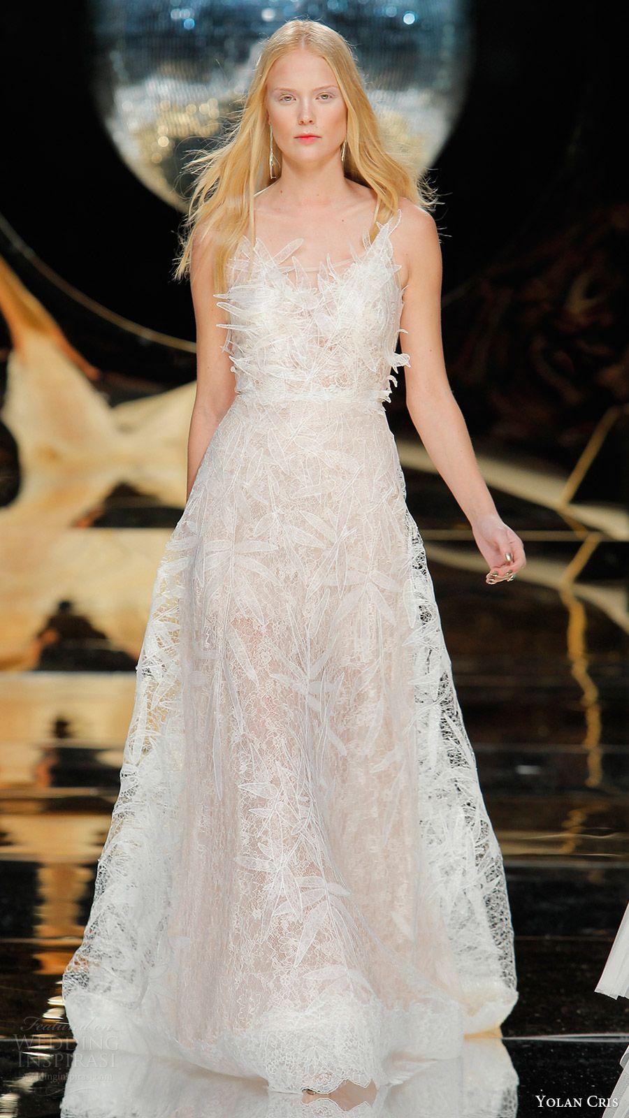 e0cec22afeec yolan cris bridal 2017 sleeveless scoop neck aline wedding dress (29) mv