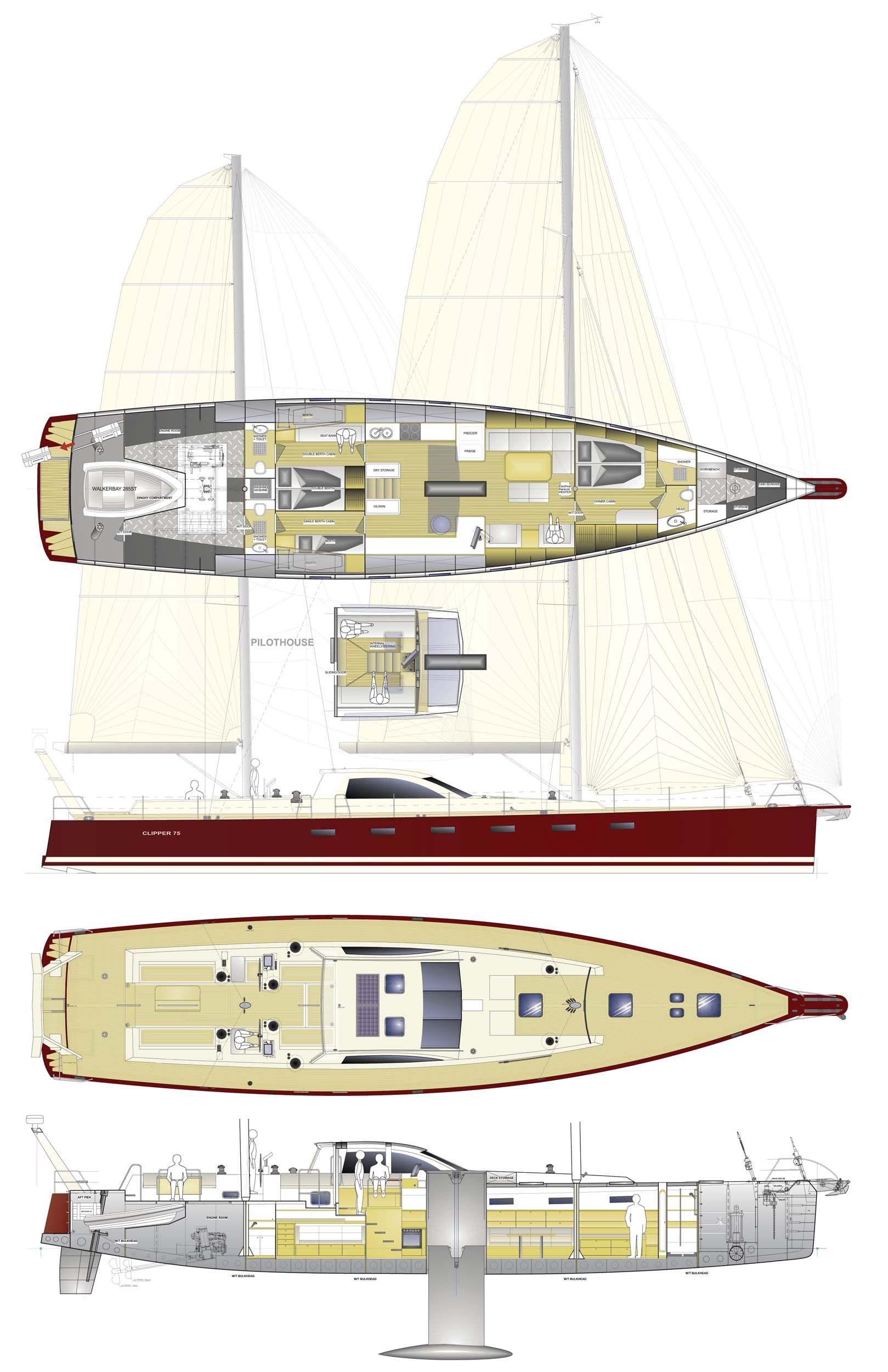 Conrad 115 Lunar. Sailing Yacht. | Yacht | Pinterest | Boating