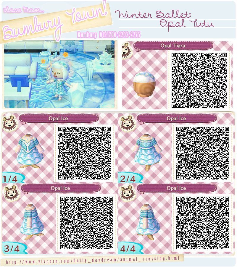 Qr code animal crossing new leaf elsa dress the best for Floor qr codes new leaf