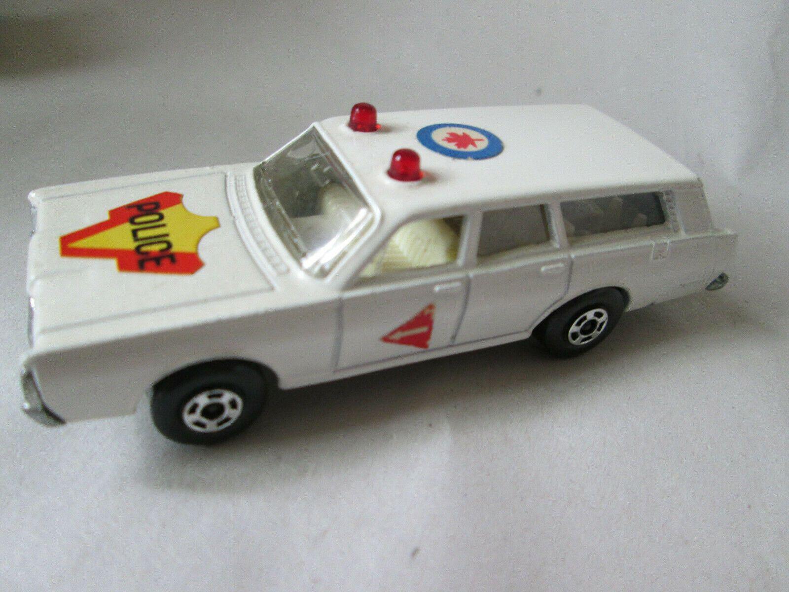 1971 Matchbox Series No. 55 Mercury Police Car (England