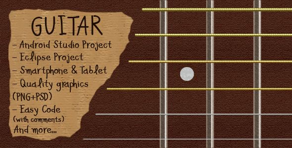 Download Free Guitar Simulator (Android Studio + Eclipse) # android ...