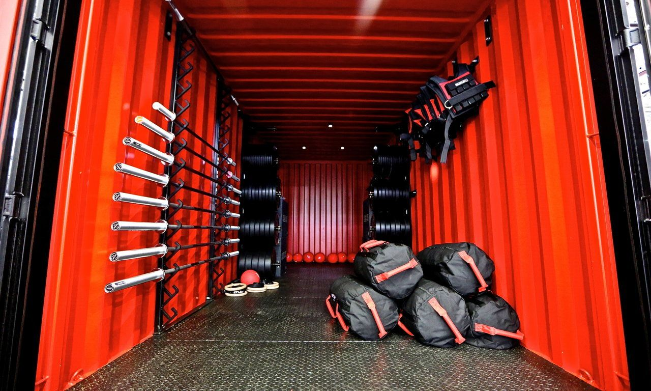 Hatlex store outdoor container cross training fitness