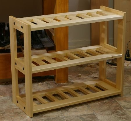 LumberJocks Woodworking Community Woodworking Projects Tagged With Shoe Rack  Original Woodworking Plans This Simple Storage Rack Can