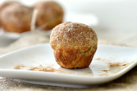 Whole Wheat Cinnamon Sugar Donut Holes - found a way to make something not-so-sinful in the cake pop maker!