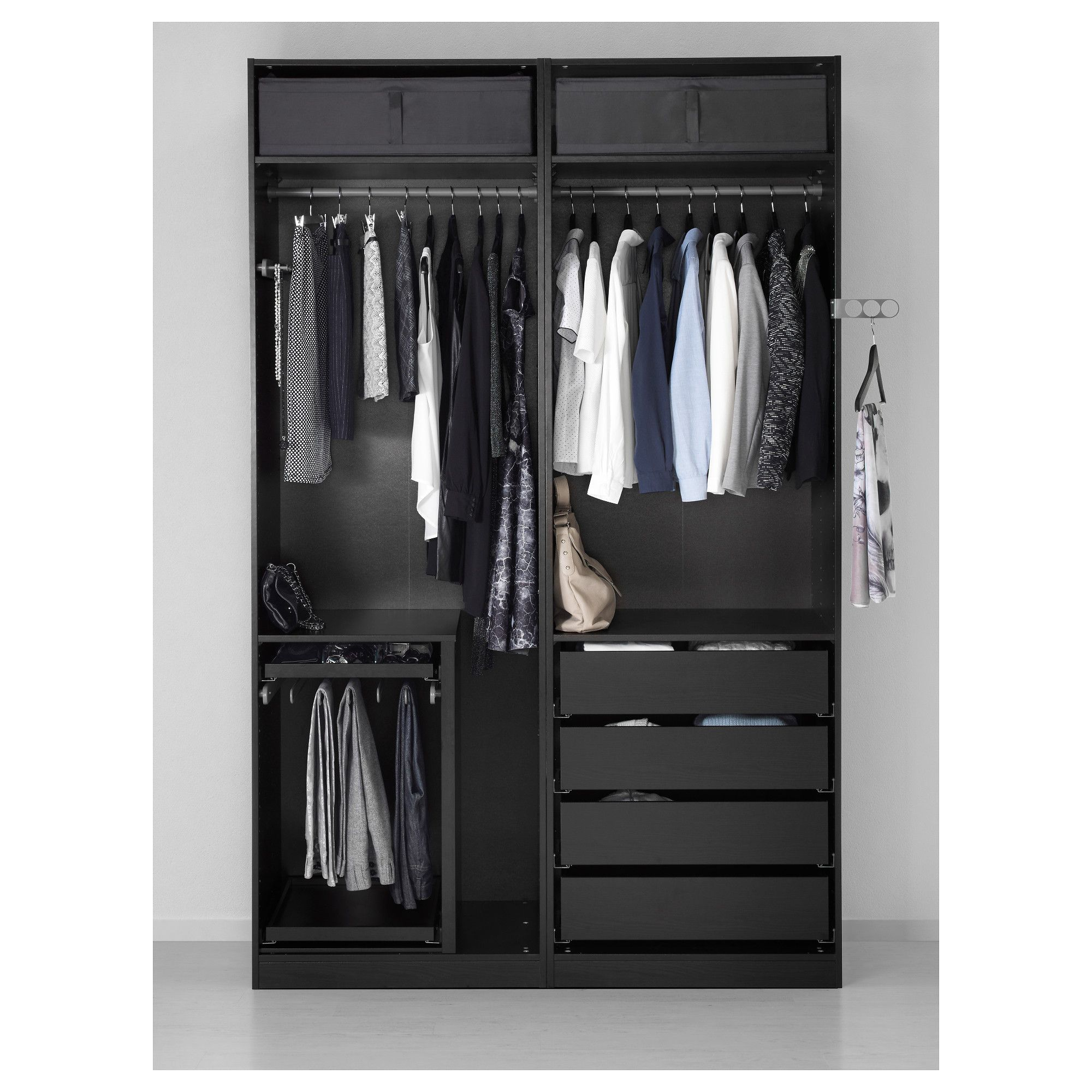 Furniture and Home Furnishings Pax wardrobe, Glass
