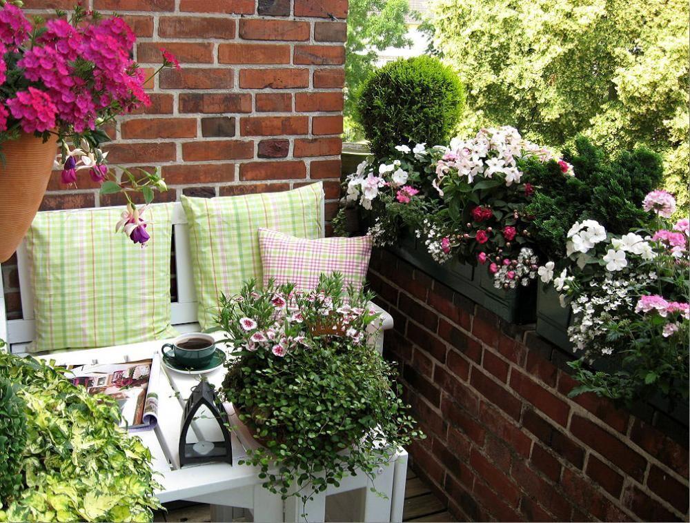 30 Gestaltungsideen für den Balkon und die Dachterrasse