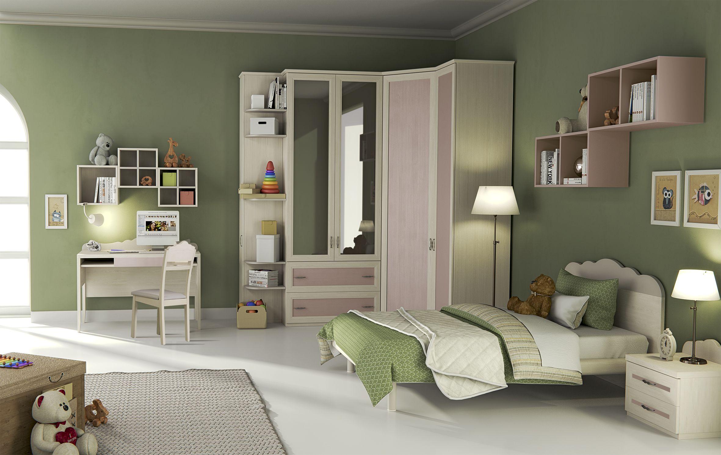 Camerette Lusso ~ Old è la nuova linea di camerette proposta da giessegi e presenta