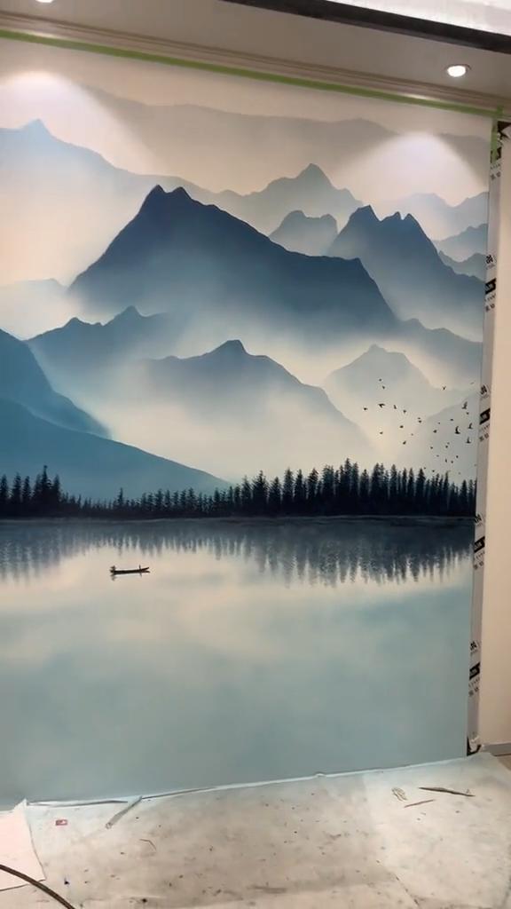 No hay nada mas hermoso #Hausmalerei