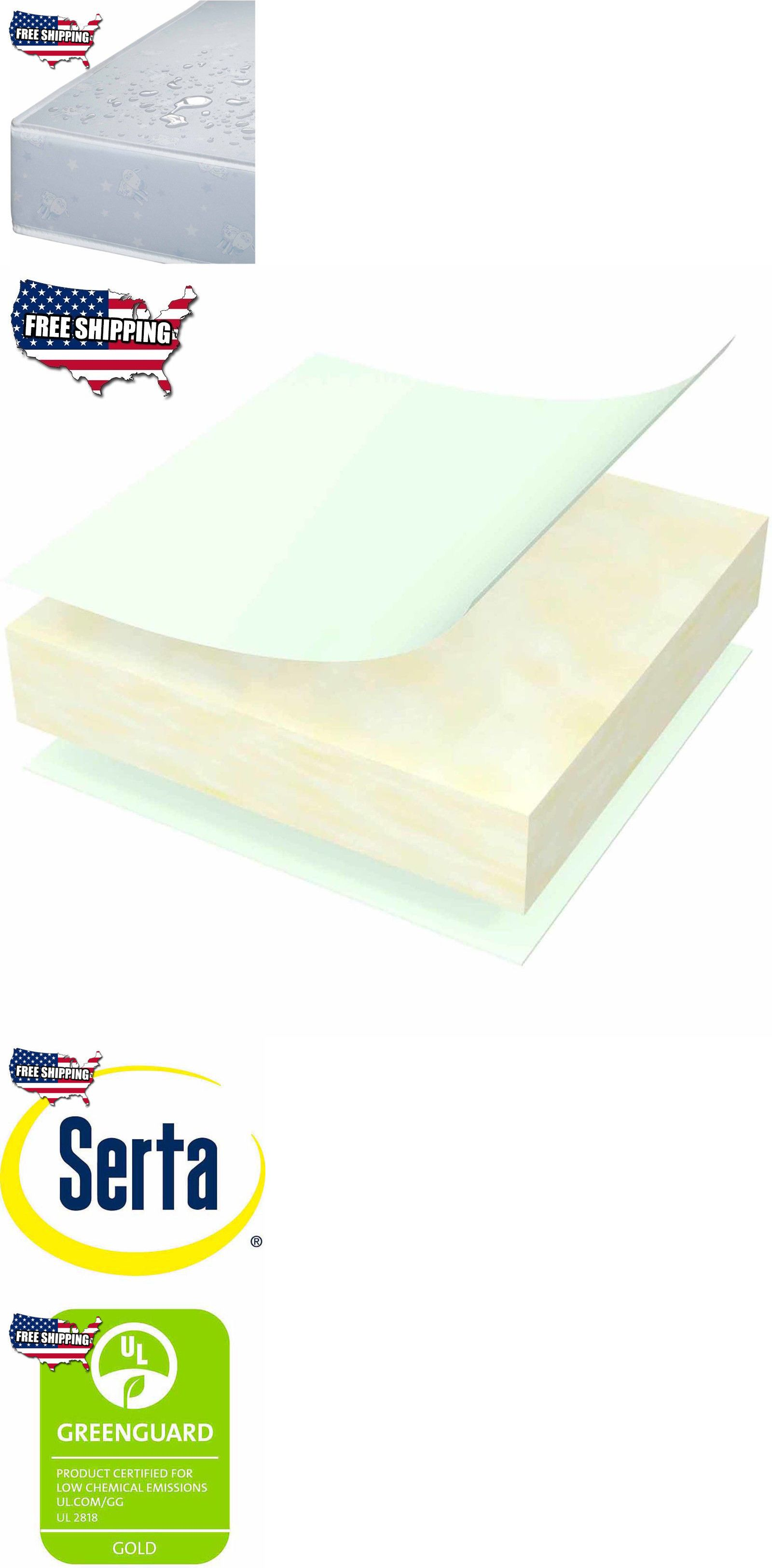 crib mattresses 117035 serta nightstar firm comfort crib and