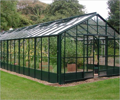 Solar Pv Greenhouse Generating Incorporating Transpa Gl