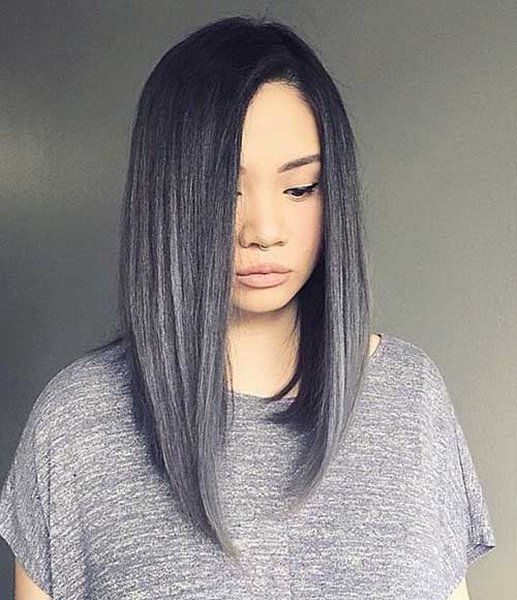 25 simple long bob hairstyles which you can do yourself striking 25 simple long bob hairstyles which you can do yourself striking grey long bob haircut solutioingenieria Image collections