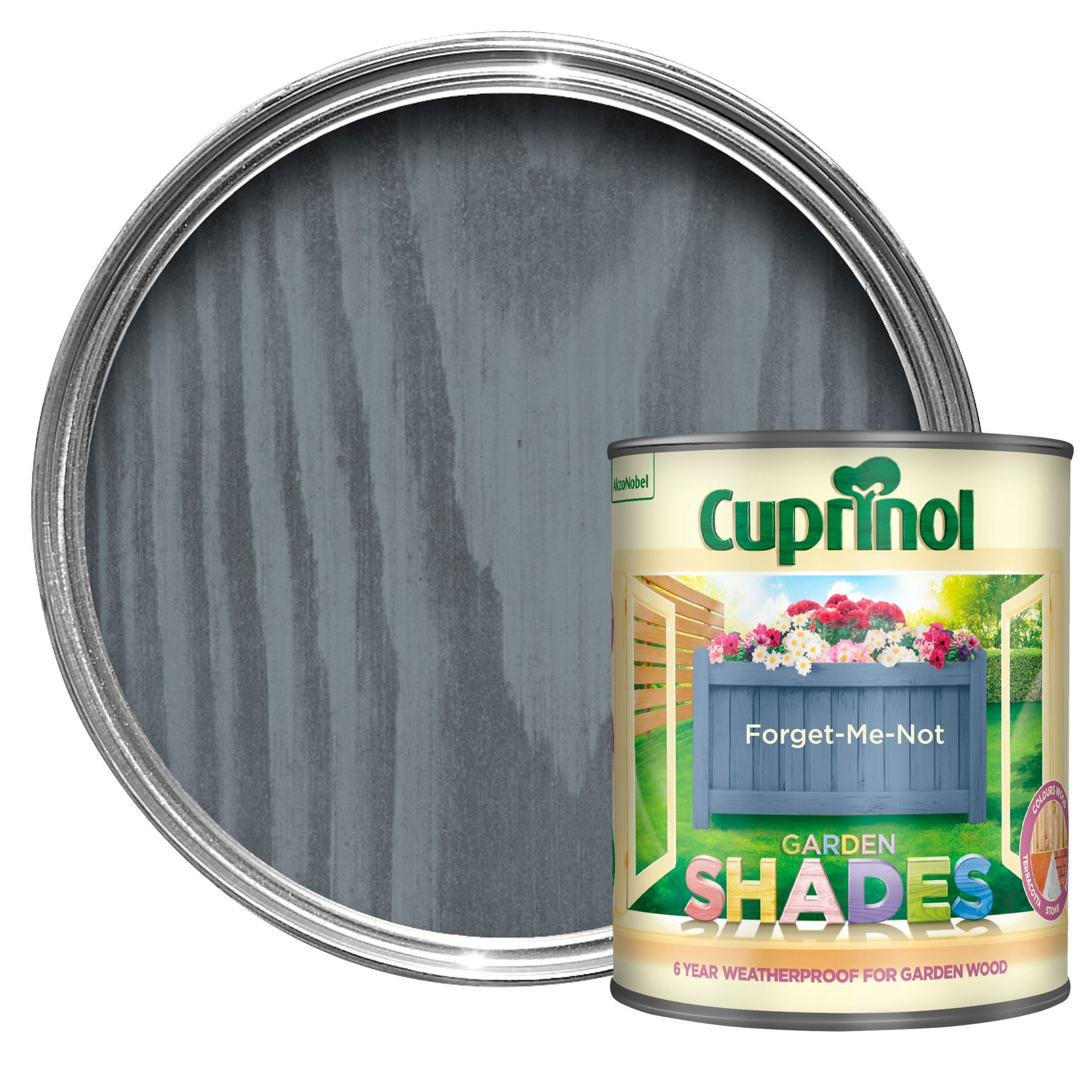 Cuprinol Garden Shades Me Not Matt Wood Paint 1L