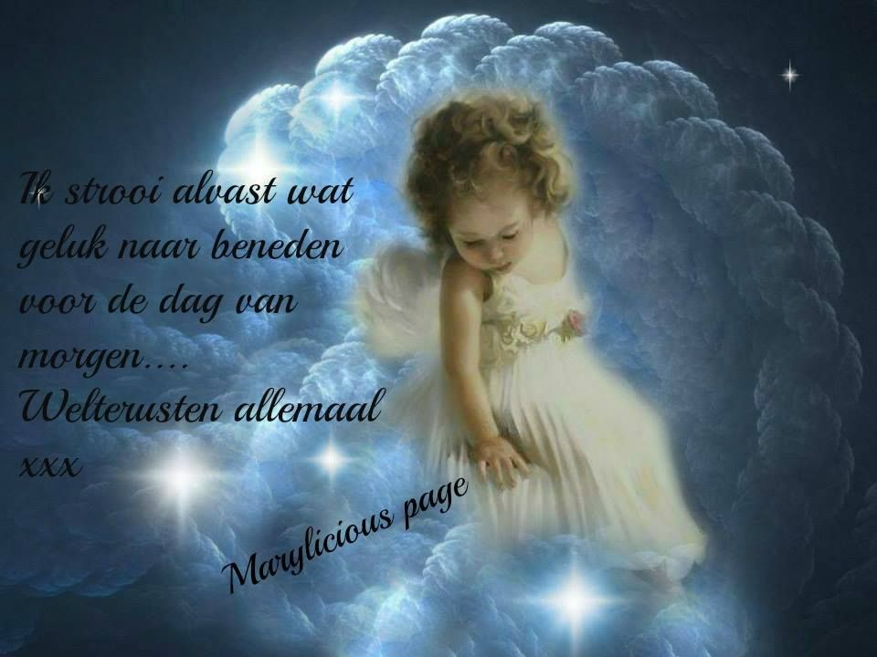 Citaten Over Engelen : Welterusten teksten plaatjes van marylicious