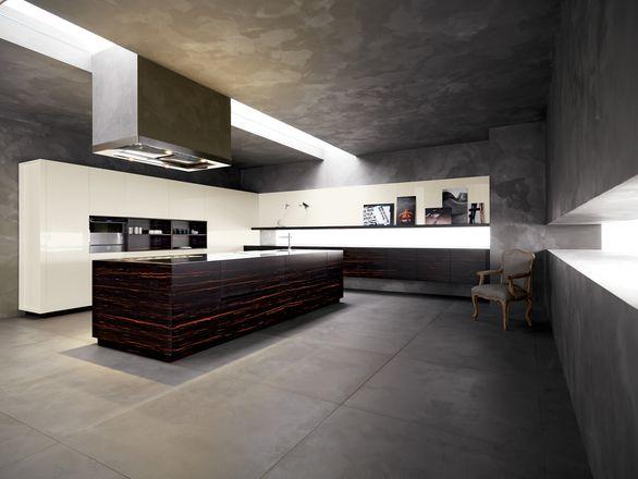 ELLE CESAR CUCINE Ebano## Laccato lucido burro | Cesar | Kitchen ...