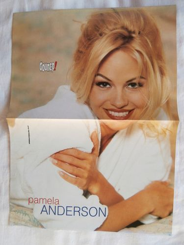 Pamela Anderson Cranberries Big Poster Greek Magazines clippings 1970s 1990s | eBay