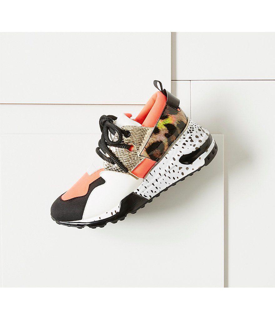 Steve Madden Cliff Multi Wedge Sneakers