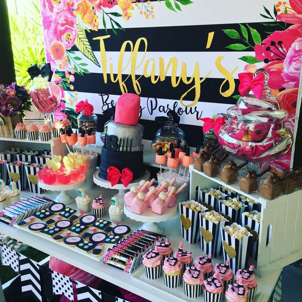 Pamper Spa party Birthday Party Ideas | Photo 9 of 22