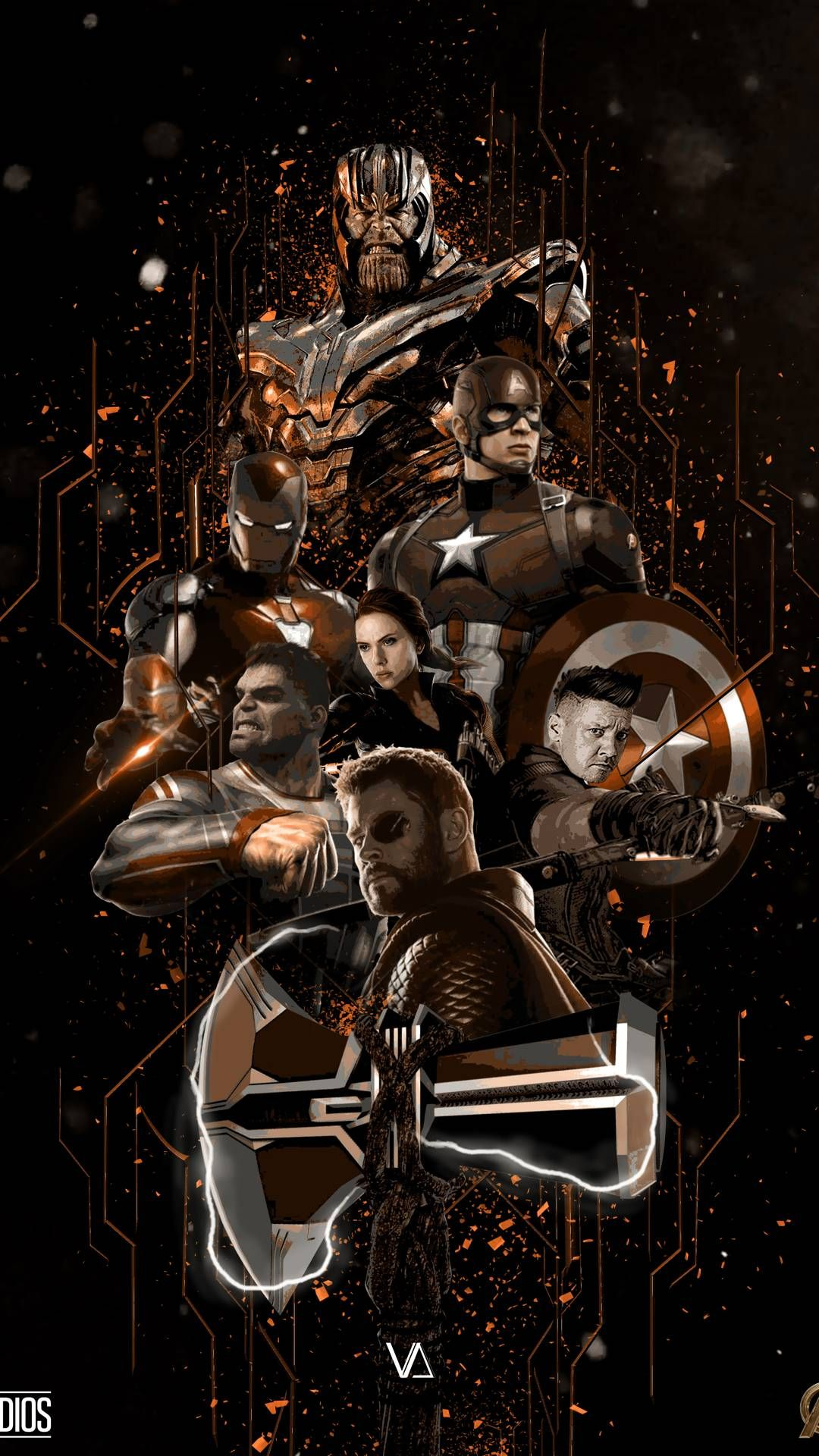 Pin by Skjetly on Epic Avengers wallpaper, Marvel wallpaper