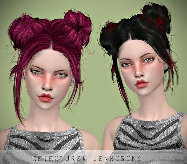 Jenni Sims: Newsea`s Gaze Hair Retextured