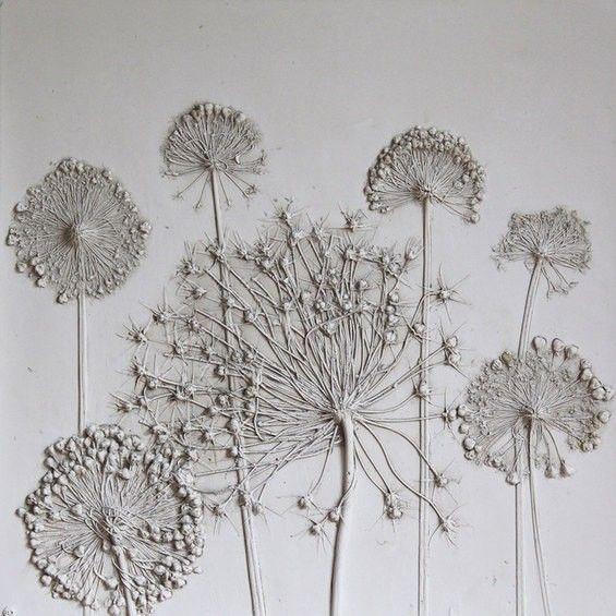 Artist Rachel Dien Creates Delicate Fossils From Flowers