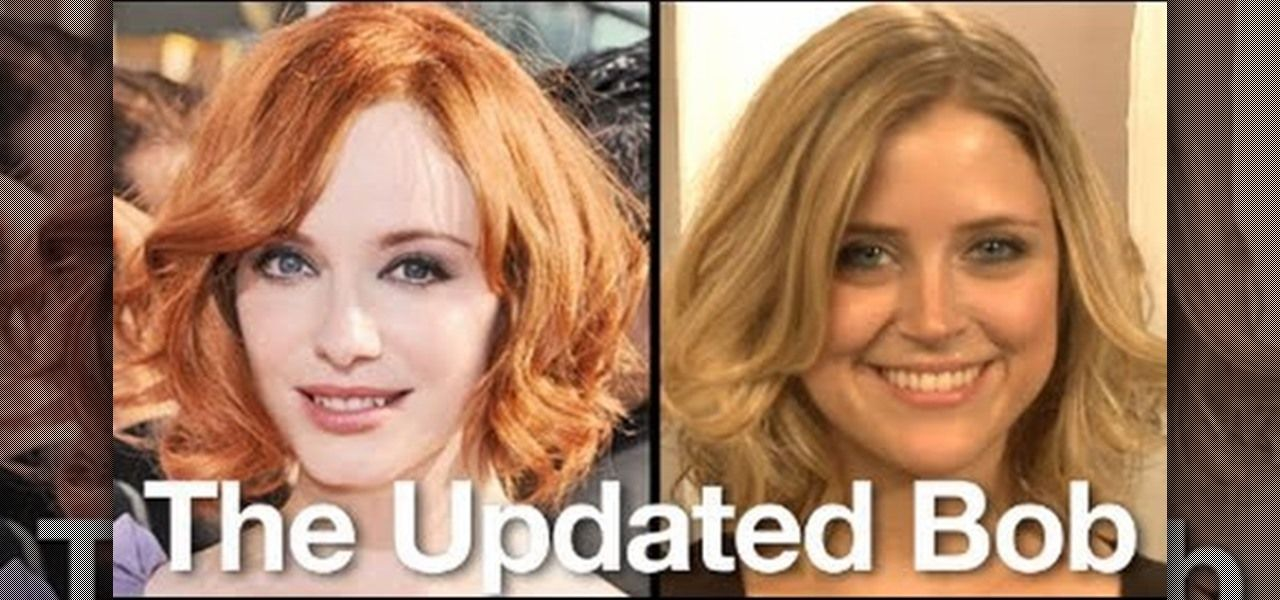How To Create Christina Hendrick S Curly Bob From Mad Men Hairstyle Curly Bob Hair