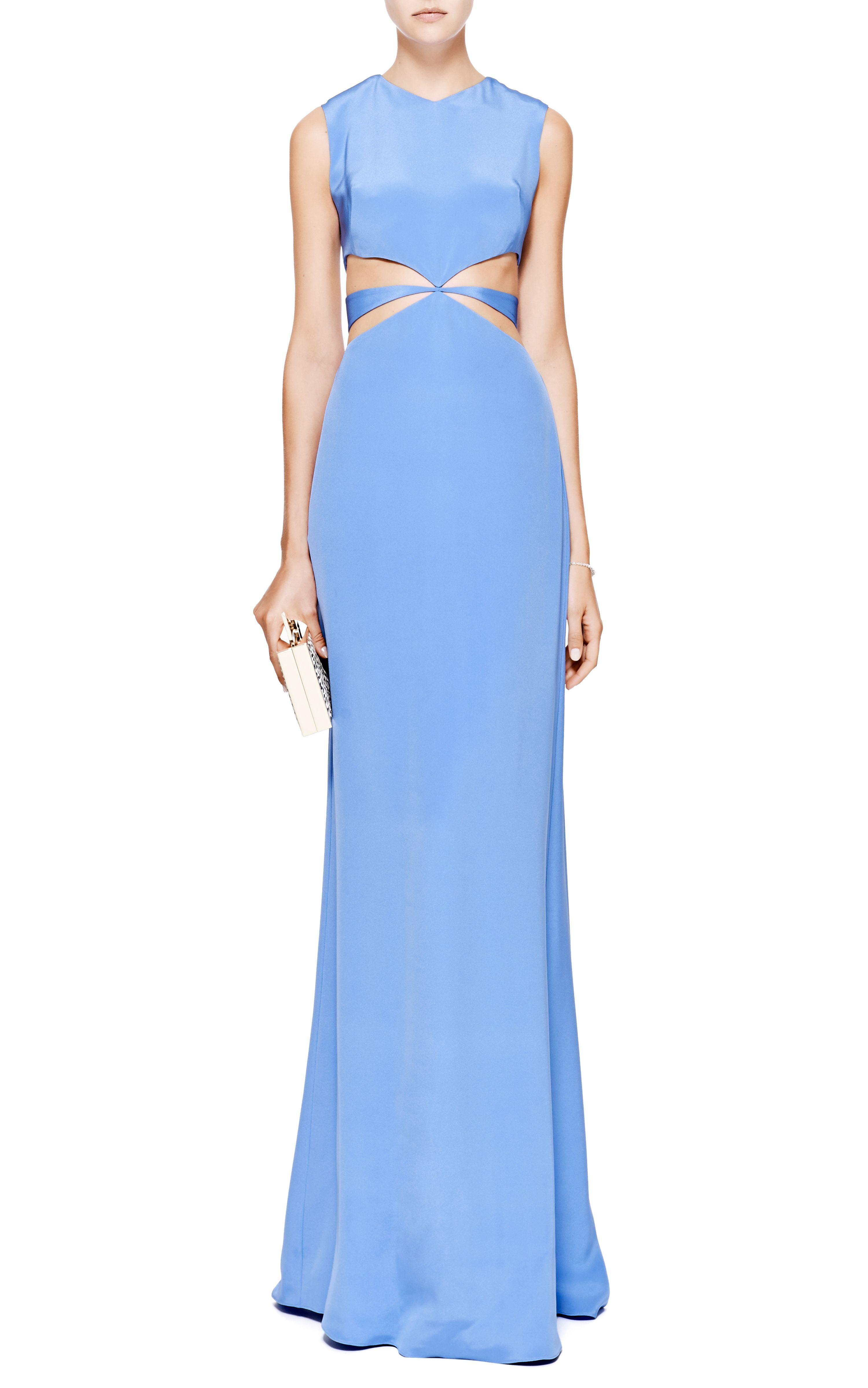 Silkcrepe cutout gown by cushnie et ochs moda operandi