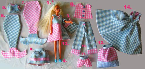 This Is An Early 90s Bubble Fairy Barbie With Lots Of Clothes That I Made Her She S For Sale On Ebay Right No Vintage Barbie Dolls Vintage Barbie Barbie Dolls