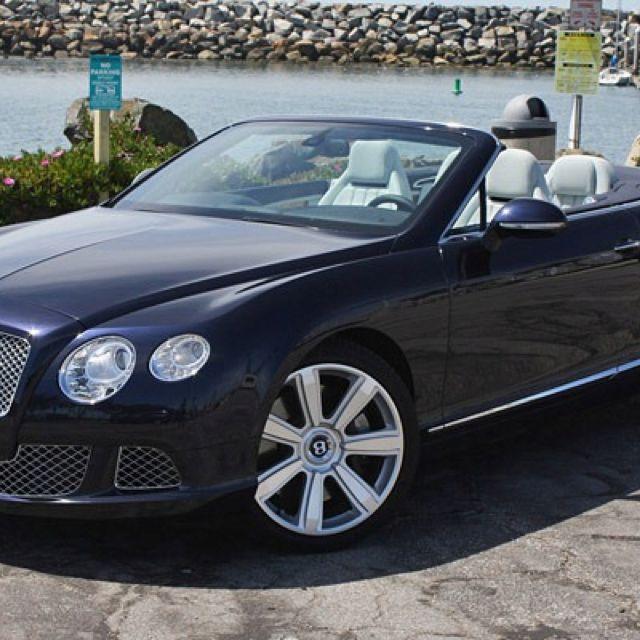 Drop Top Bentley GT