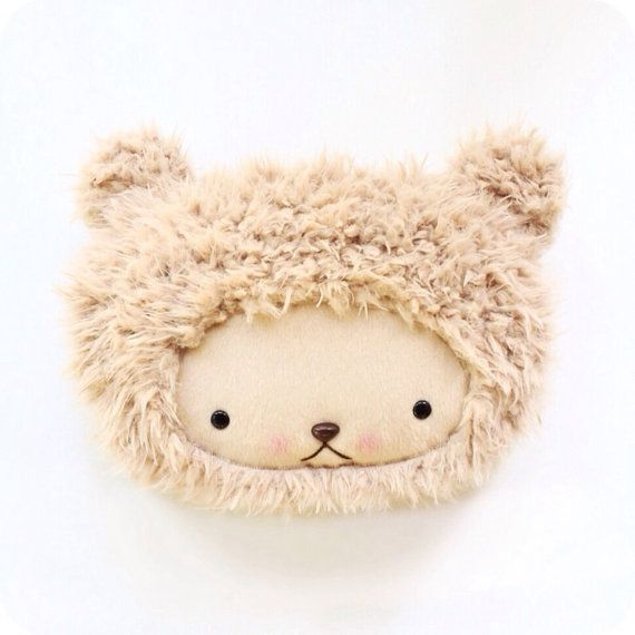 Plush Kawaii Teddy Bear Pillow in Caramel Sand Cuddle Shag Faux Fur #bearbedpillowdolls Heres the perfect pillow to brighten your childs bed top--its an adorable kawaii decoration during the day, then just flip it over for a soft place to #bearbedpillowdolls Plush Kawaii Teddy Bear Pillow in Caramel Sand Cuddle Shag Faux Fur #bearbedpillowdolls Heres the perfect pillow to brighten your childs bed top--its an adorable kawaii decoration during the day, then just flip it over for a soft place to #bearbedpillowdolls