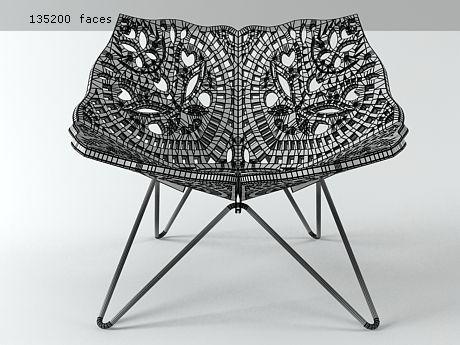 PRINCE CHAIR by Louise Campbell | Hay Prince 3d model ...