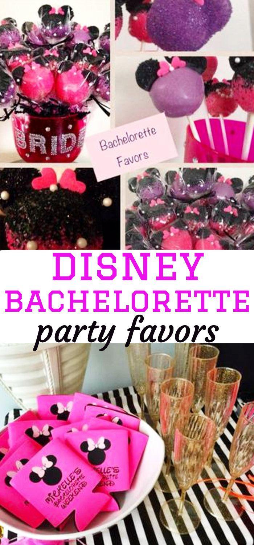 Disney Bachelorette Party Favor Ideas | Wedding | Pinterest | Disney ...