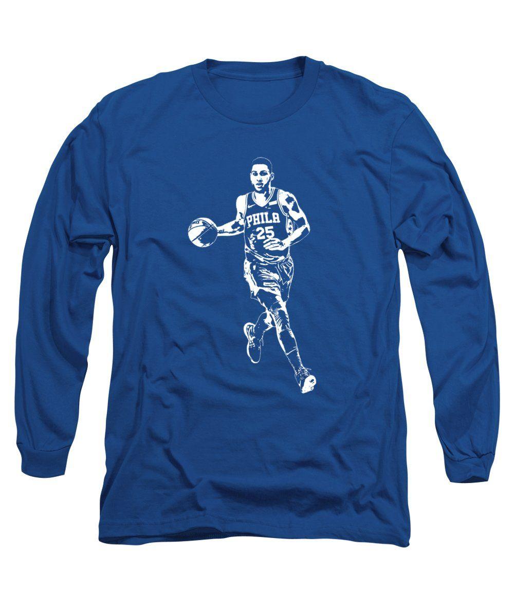online store 6e8df 6ba40 Ben Simmons Philadelphia 76ers T Shirt Apparel Pixel Art 3 ...