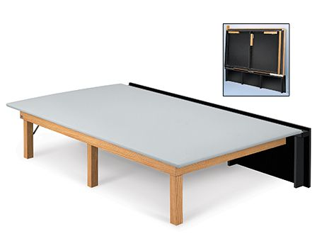Hausmann Industries Model 1420 Space Saver Mat Platform Medical Furniture Therapy Room Space Savers