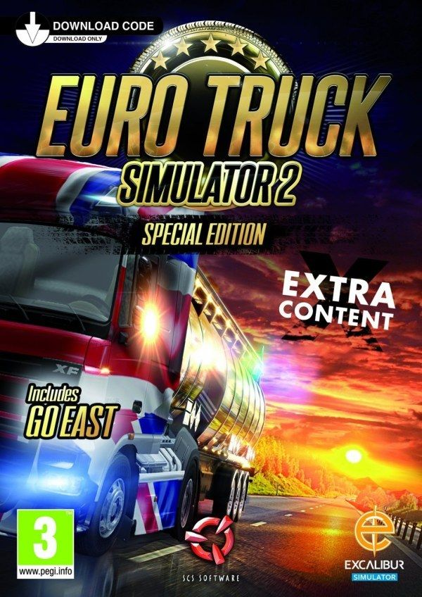 Euro Truck Simulator 2 Special Edition Digital Download Card